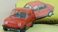 VINTAGE FIAT 126p TOY CAR 1:43 ESTETYCA MADE IN POLAND IN ORIGINAL BOX RARE RED