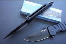 C Steel CS AK47 Aircraft Aluminium Black Handle Liner Lock Folding Knife Gift