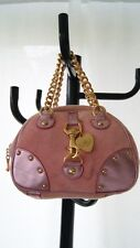 JUICY COUTURE pink velour bag purse  (purse 600)