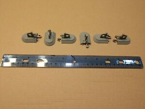 Bachmann N Scale E-Z Track Nickel Silver Bumpers (2pcs) #44890 Free Ship
