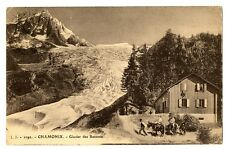 CPA 74 Haute-Savoie Chamonix Glaciers des Bossons animé animaux