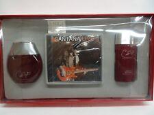CARLOS SANTANA 3.4 oz 100 ml Men EDC Cologne Spray 2.6 oz 75 g Deo & CD SET 3