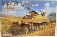 Dragon Model Kit 1/35 Sd.Kfz.251/21 Ausf.D DRILLING German WWII Armor 6217