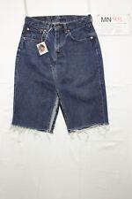 Levi' s mini jupe 595 (Cod.MN98) tg.43 W29 jeans d'occassion vintage Sexy levis