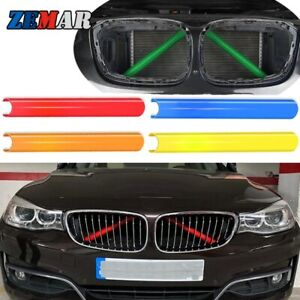 2Pcs Front Grill Stripes For BMW 1 2 4 3-series 328i F30 F32 G20 Z4 Accessories