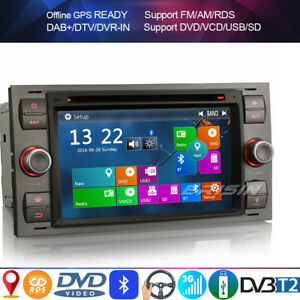Autoradio per FORD FOCUS S-MAX C-Max FIESTA TRANSIT Connect GALAXY KUGA DVD+DVB