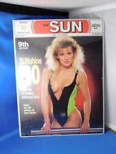 PIN UP MODEL CALENDAR 1990 TORONTO SUN SUNSHINE GIRL NEWSPAPER  BONUS POSTER