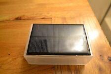 Piccola SCATOLA PROGETTO Solar. Ideal per IOT ESP8266 sviluppo 5V USB 0.75 WATT FAI DA TE
