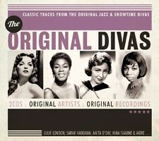 ORIGINAL DIVAS Julie London, Anita O'Day, Nina Simone 2 CD NEW+