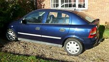 2001 vauxhall astra G mk4 1.7 dti blue n/s wing passenger Z282 code breaking car