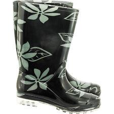 Gummistiefel Stiefel Regenbekleidung Regenkleidung  Blumenmuster Gr. 36 - 42 NEU