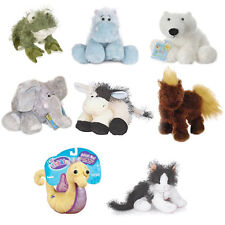 Webkinz - 8 x Animal Plush Frog Hippo Polar Bear Elephant Cow Horse Cat Seahorse