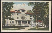 POSTCARD MONTGOMERY AL/ALABAMA LOCAL AREA MASONS MASONIC HOME 1910'S