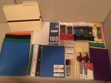 Back to School, office Supplies LO, Notebooks, Pencils, Marker GIRL/BOY Ship Inc