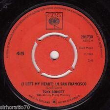 TONY BENNETT (I Left My Heart) In San Francisco / Candy Kisses 45