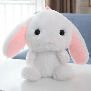 19'' Lolita Bunny Rabbit Shoulder Bag Backpack Plush Toy Cartoon Soft Doll Gift