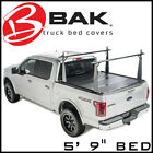 BAK Industries Tonneau Bed Cover/Truck Bed Rack Kit fits 04-14 Ford F-150 6' 7