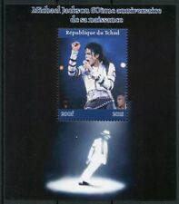 Chad 2018 MNH Michael Jackson 1v M/S II Popstars Music Celebrities Stamps