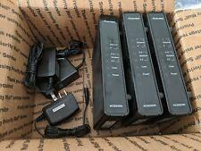 Three (3) Actiontec Model WCB3000N extenders Bundled with Power Adapters