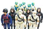 1984 Gi joe action force figures Storm Shadow Copperhead Baroness Firefly