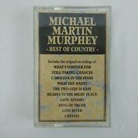 Michael Martin Murphey Cassette Best of Country