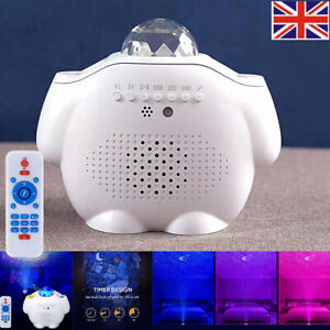 LED Galaxy Starry Projector Night Light Star Sky Projection Lamp w/ Remote USB