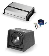 """JL Audio Bass Package CP112 and JX250/1D 12"""" Sub in JL proper box and JL sub amp"""