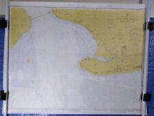 "Nautical Chart C.&G.S #540 New York Harbor 1973 map approx. 30""X39"""