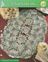 A Touch of Color HOWB Series Masquerade Doily Crochet Pattern