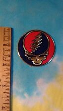 Grateful Dead Steal Your Face SYF 2 Inch Metal Metallic Sticker