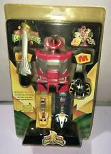 "1994 Mighty Morpin Power Rangers Megazord Digital 8"" Tall Stand Clock new"