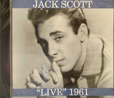 JACK SCOTT 'LIVE' 1961 - 15 Tracks