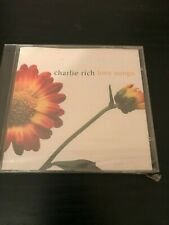 NEW & SEALED Love Songs by Charlie Rich CD! LOOK HERE FOR RARE COUNTRY MUSIC CDs