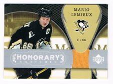 2007-08 Upper Deck Trilogy Honorary Swatches Jersey #HS-ML Mario Lemieux