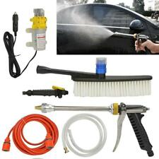 Portable 12V Car High Pressure Washer W.ater Pump Kit Jet Wash Cleaner Hose Van