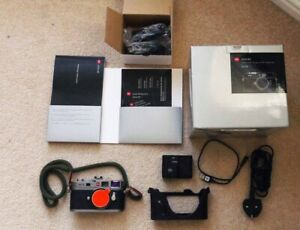 Leica M9 18.0MP Digital Camera Body boxed with extras but read description
