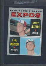 1970 Topps #109 Expos Rookie Stars Jestadt/Morton EX *886