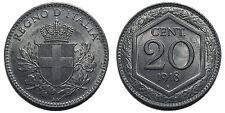 20 centesimi 1918 Esagono quasi FDC