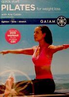 Quick Start Pilates for Weight Loss (DVD, 2005, 2-Disc Set, DVD+CD)