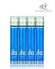 DQ Vodka 4x50ml Vials Swedish luxury Vodka