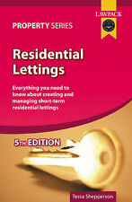 Residential Lettings by Tessa Shepperson (Paperback, 2005)