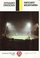 OL 89/90 SG Dynamo Dresden - Fortschritt Bischofswerda