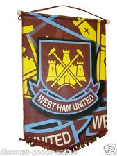 WEST HAM LARGE HANGING PENNANT FLAG NEW OFFICIAL WHUFC Hammers United