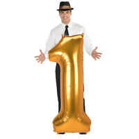 "Gold Number Balloon 0-9 Balloon 53"" Foil Balloons Party Birthday"