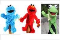 Sesame Street Plush Stuffed Animal Elmo Cookie Kermit Frog Monster Hand Puppet