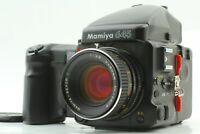 【N MINT】 Mamiya M645 Pro TL SEKOR C 80mm F2.8 AE Prism Finder Motor Grip JAPAN