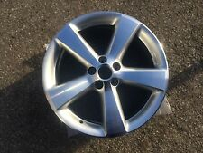 "17"" Genuine VW 5 Spoke Silver/ Diamond Cut Alloy Wheel 1C0 601 025 AE"