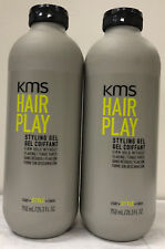 KMS Hairstay Styling Gel 25.3 oz 750 ml LOT OF 2 Special New Bottle Design