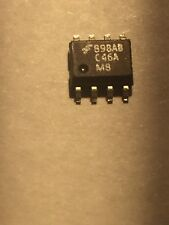 "LOT OF 100 PCS ""FM93C46AM8"" EEPROM SMD/SMT IC FAIRCHILD"