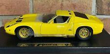 Lamborghini Muira Yellow 30302 ANSON 1:18 SCALE